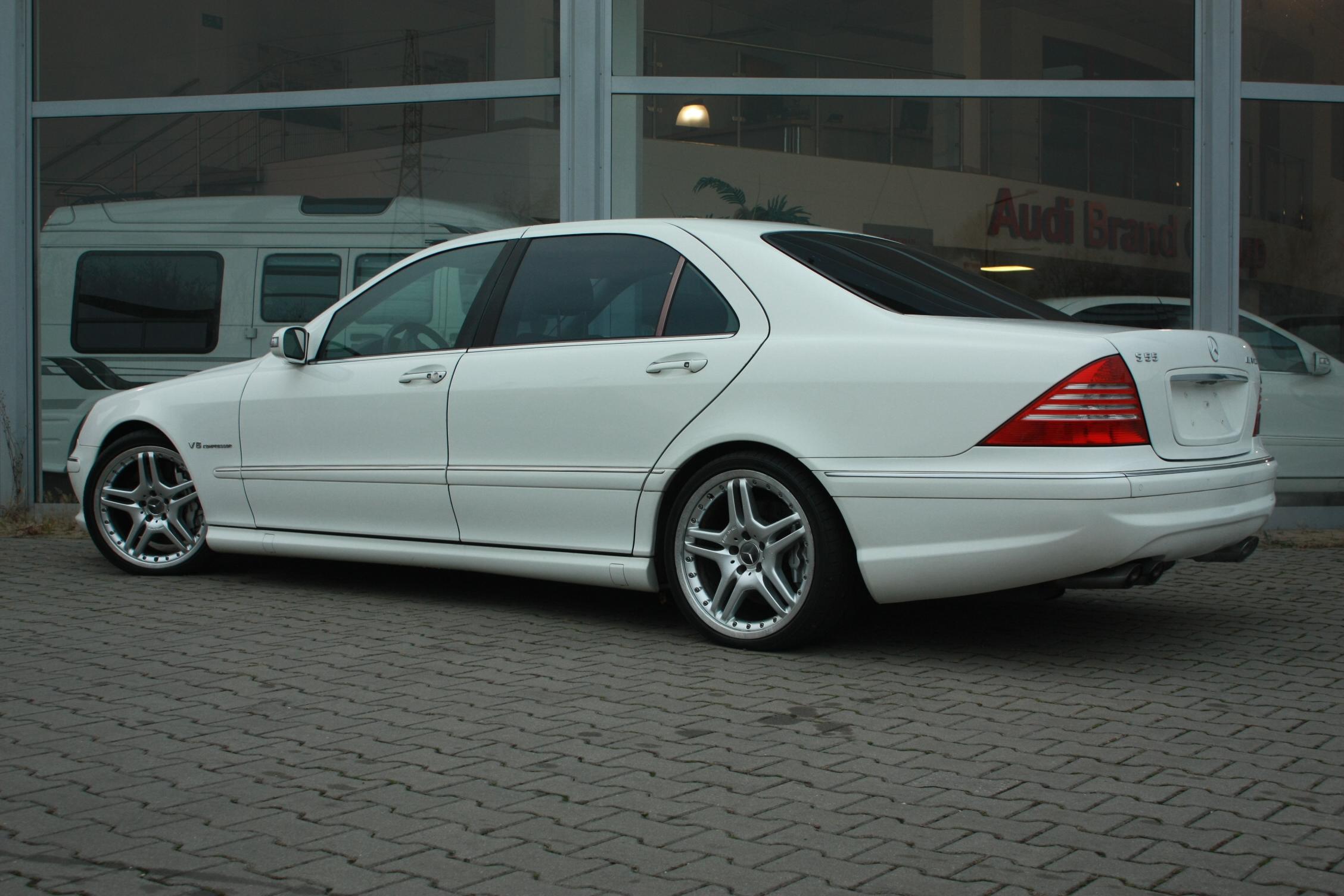 Mercedes Benz S55 AMG Raj Auto