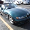 BMW Z3 Bostongruen